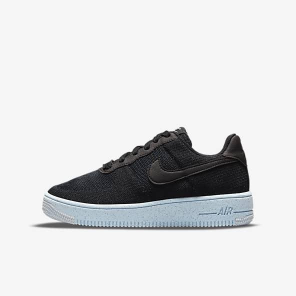 Black Air Force 1 Shoes. Nike ID
