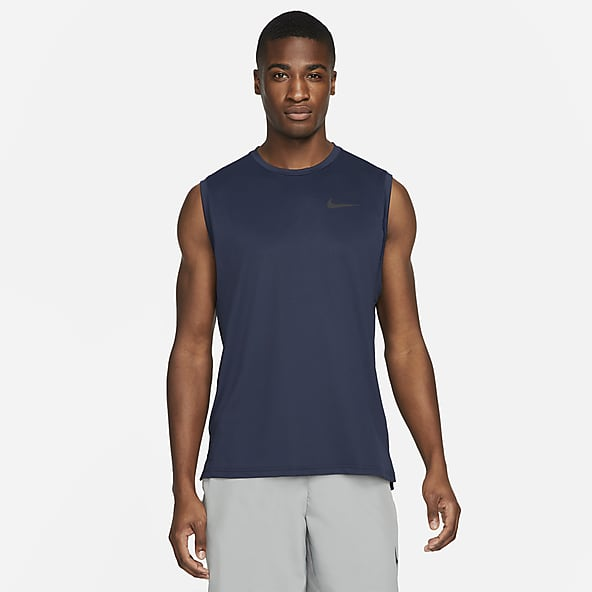 Men/'s Muscle Sleeveless Tops Round Neck Summer Sports Slim Fit T-Shirt Blouse US