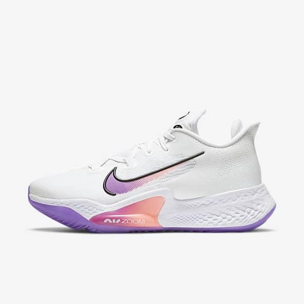 yeso ducha luz de sol  Mens White Basketball Shoes. Nike.com