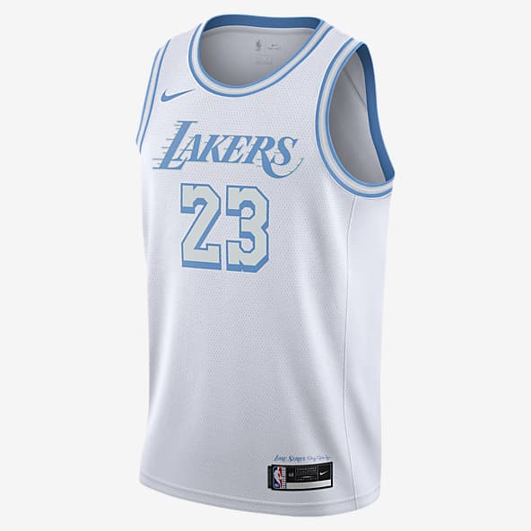 james lakers white jersey