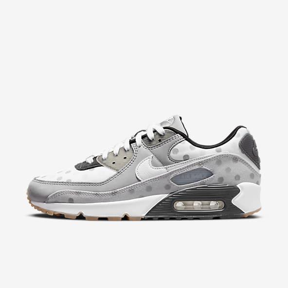 Hommes Blanc Air Max 90 Chaussures. Nike CA
