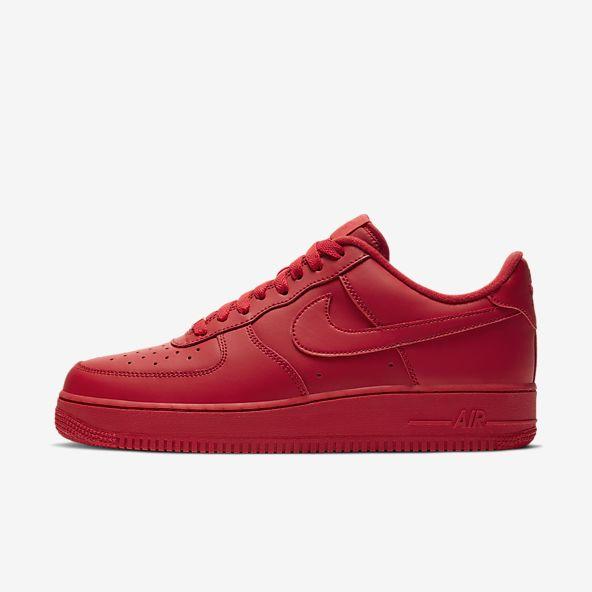 riesgo cura Especialmente  Red Air Force 1 Shoes. Nike.com