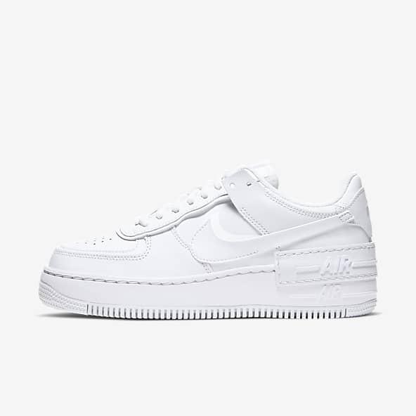 Triple White Air Force 1 Chaussures. Nike CA