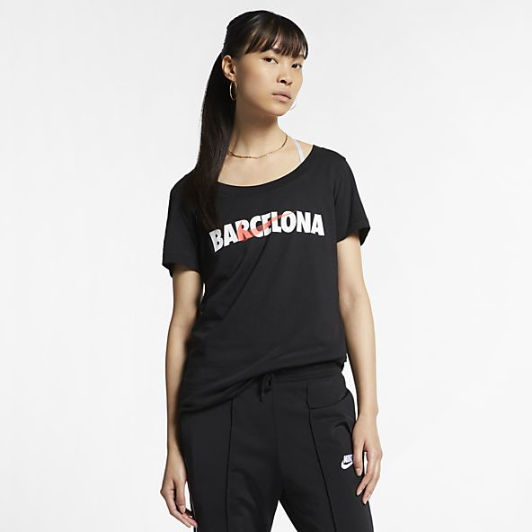 vertical Cuervo salón  Mujer Camisetas con estampado. Nike ES