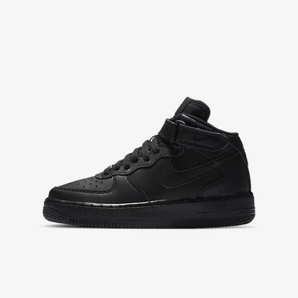 Filles Air Force 1 Chaussures. Nike LU