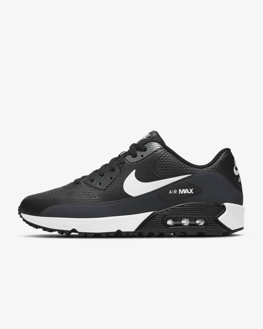 나이키 남녀공용 골프화 - 에어맥스90G NRG CU9978-002 Nike Air Max 90 G,Black/Anthracite/Cool Grey/White