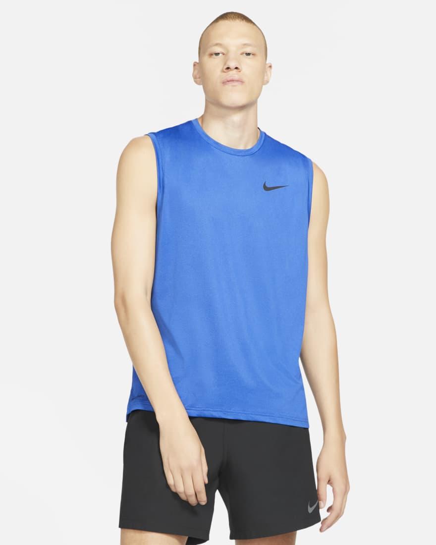나이키 프로 드라이핏 Nike Pro Dri-FIT,Blue Void/Game Royal/Heather/Black