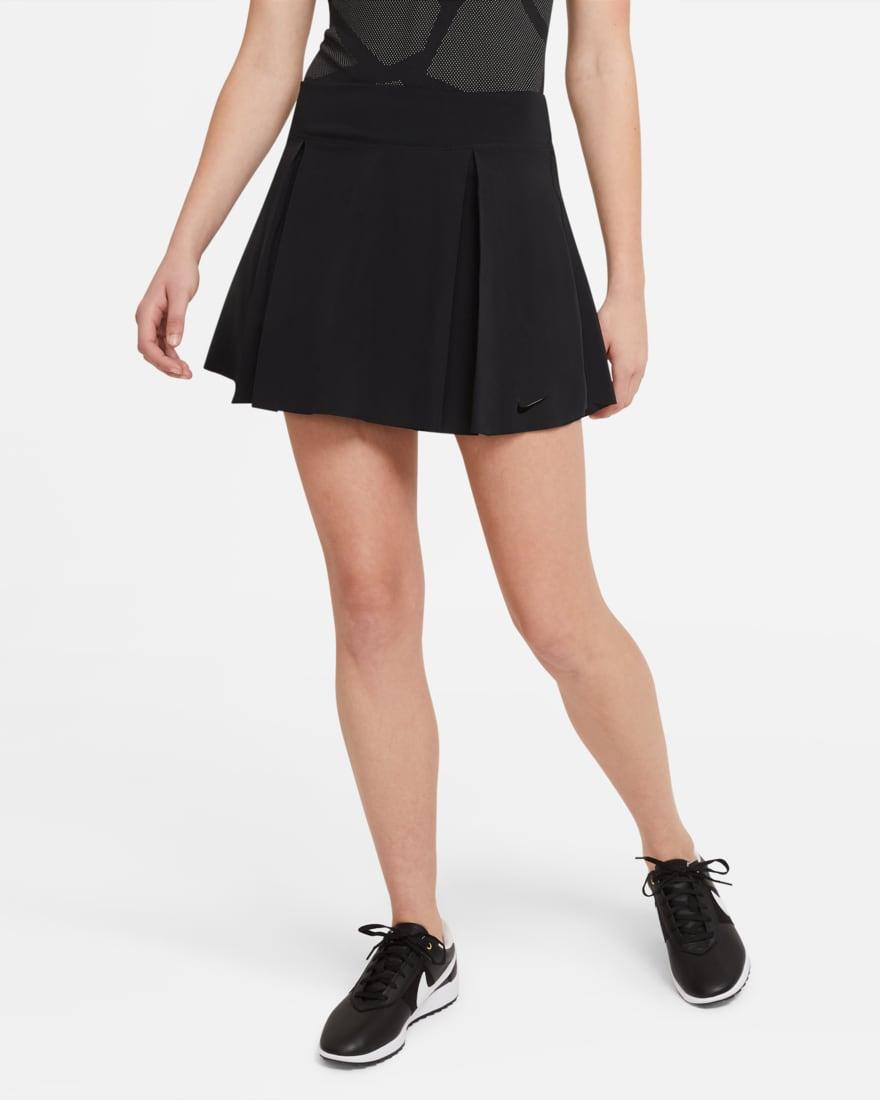 나이키 골프 여성 스커트 NikeNike Club Skirt,Black/Black