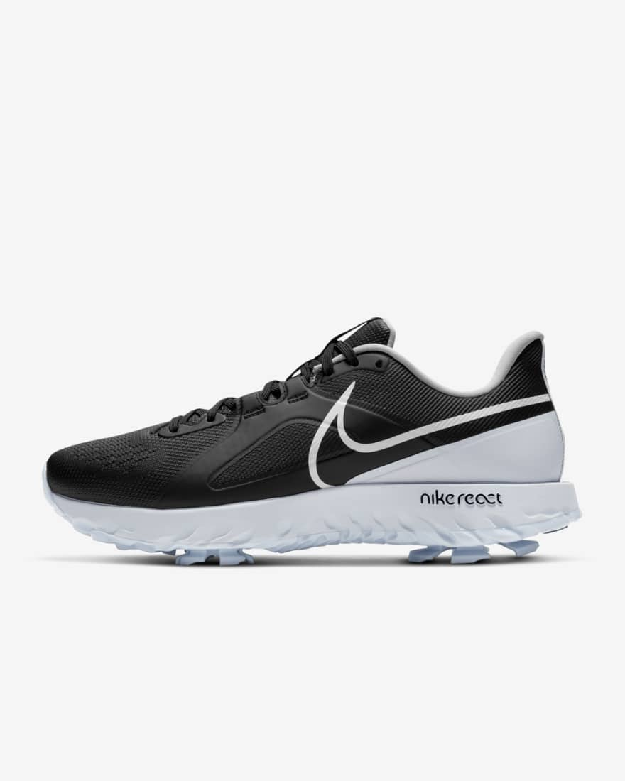 나이키 남녀공용 골프화 - 리액트 인피니티 프로 CT6621-004 Nike React Infinity Pro,Black/Metallic Platinum/White