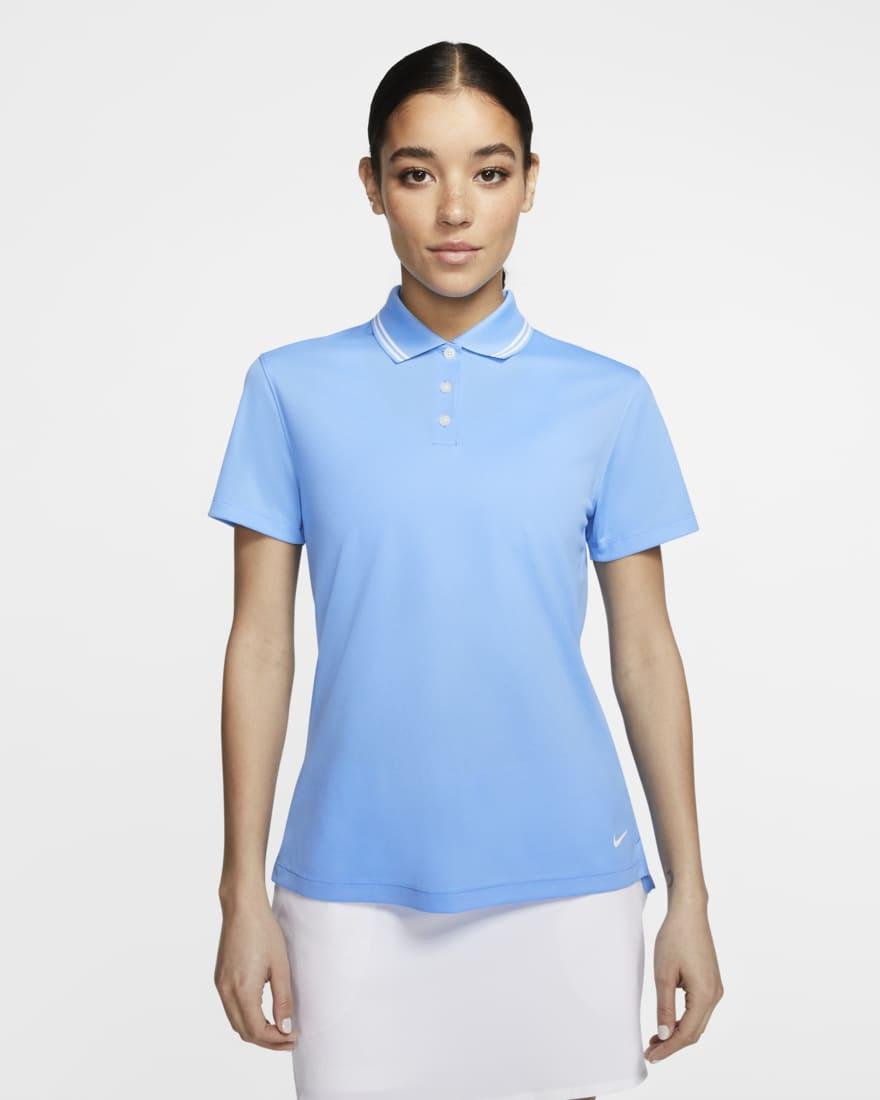 나이키 골프 여성 드라이핏 빅토리 Nike Dri-FIT Victory,University Blue/White/White