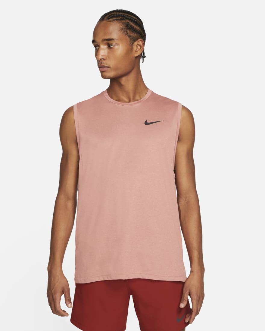 나이키 프로 드라이핏 Nike Pro Dri-FIT,Canyon Rust/Rust Pink/Heather/Black
