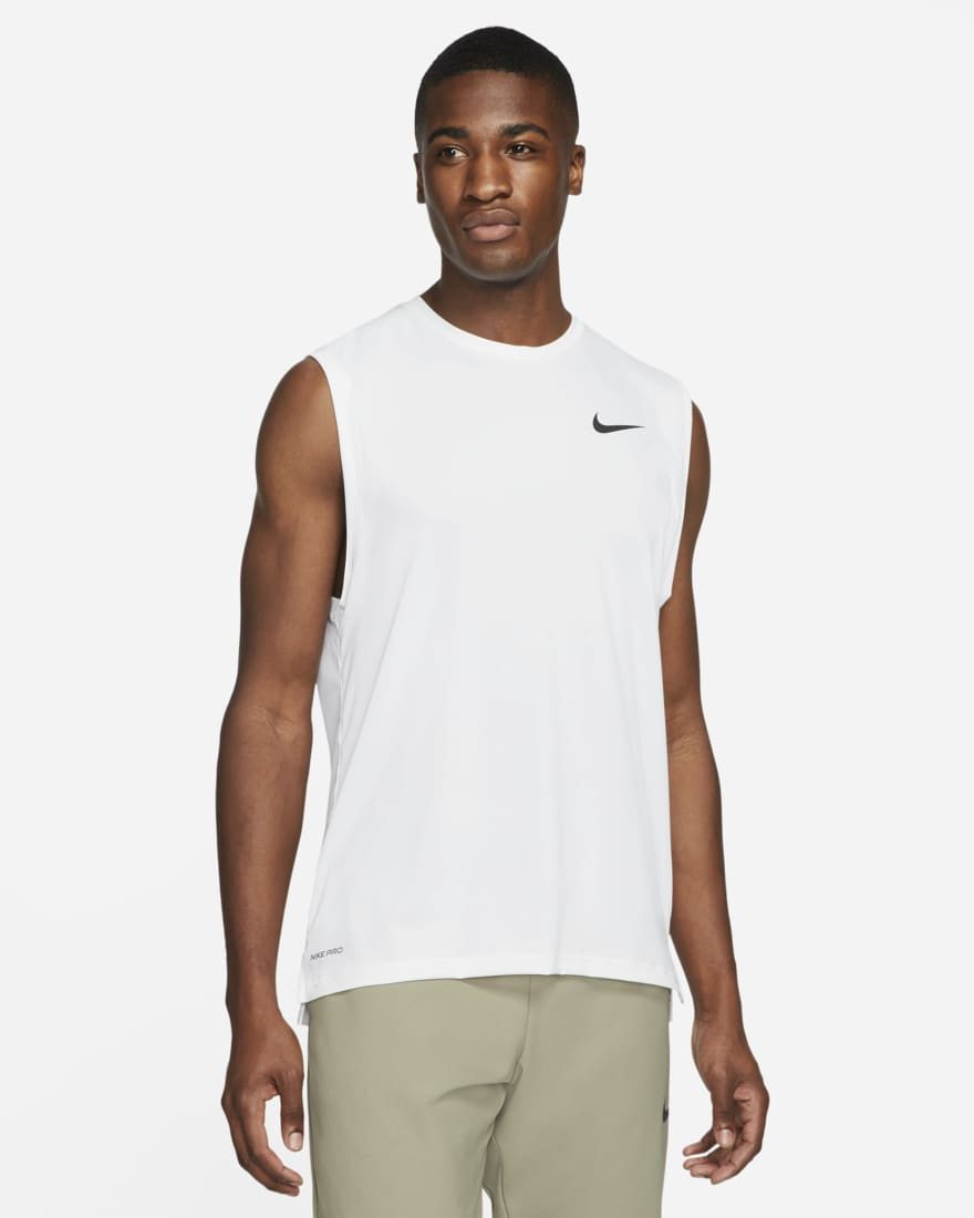 나이키 프로 드라이핏 Nike Pro Dri-FIT,White/Black