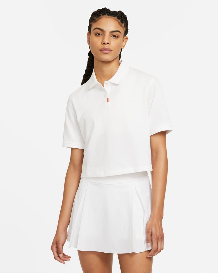 나이키 골프 여성 폴로 The Nike Polo,White/White