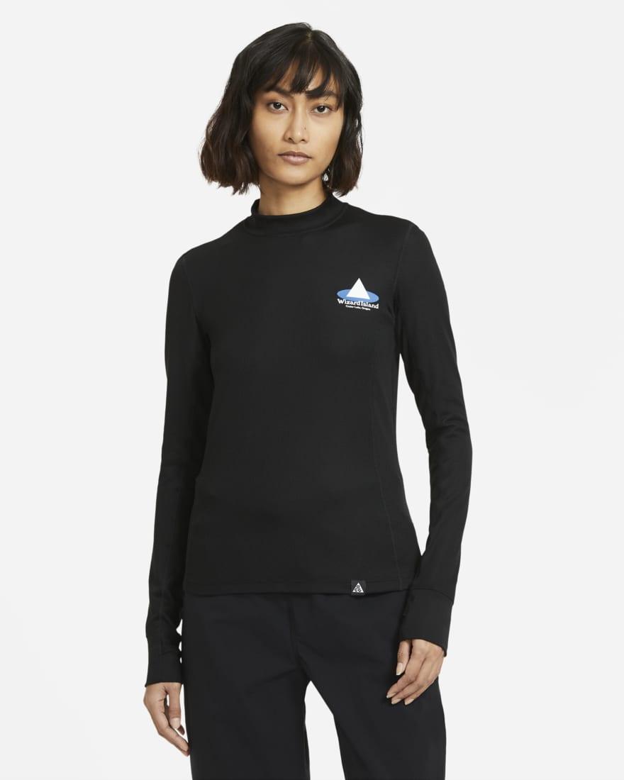 나이키 ACG 21SS 컬렉션 '마법사 섬' 티셔츠 Nike ACG Wizard Island,Black/Summit White CZ6712-010