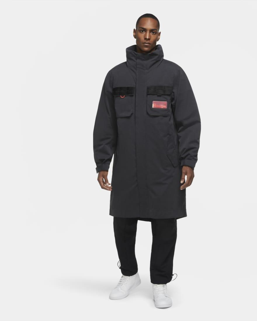 조던23 엔지니어드 파카 Nike Jordan 23 CK8908-045 Engineered Men's Parka ,Off Noir/White