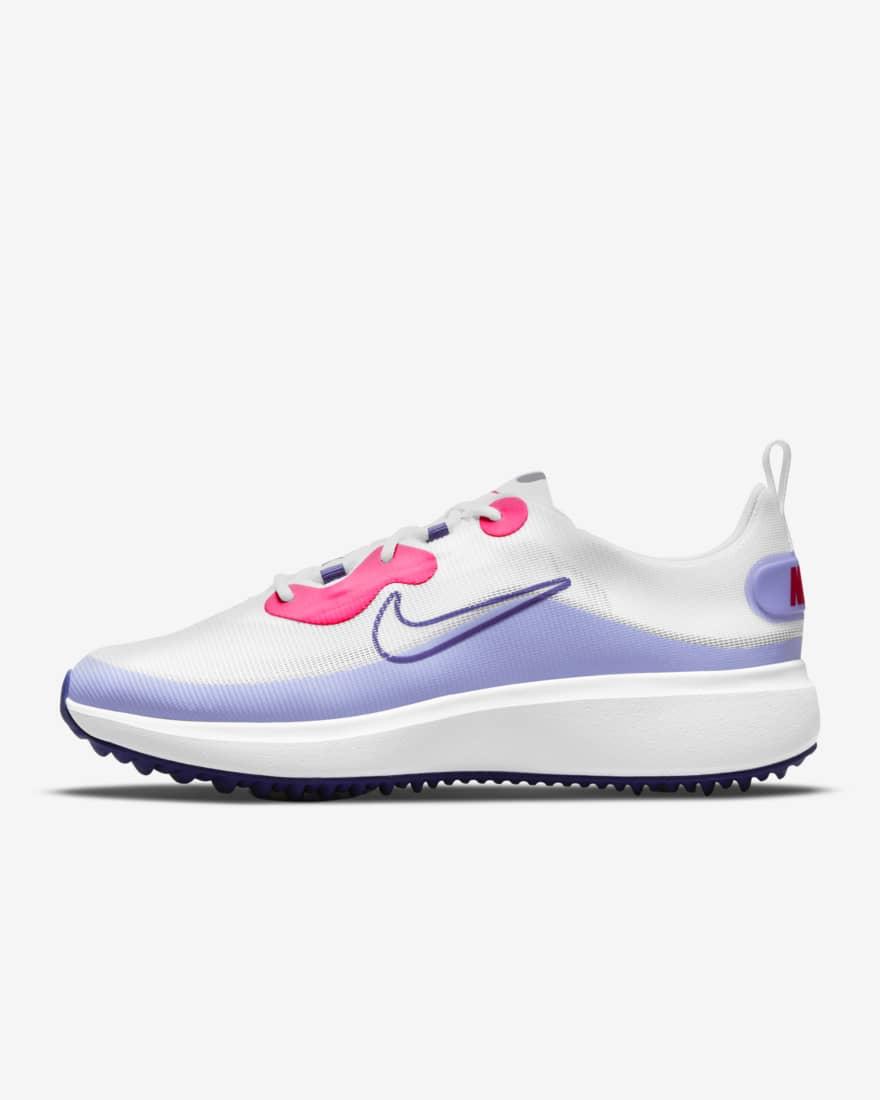 나이키 여성 골프화 - 에이스 서머라이트 DA4117-177 Nike Ace Summerlite,White/Light Thistle/Hyper Pink/Concord