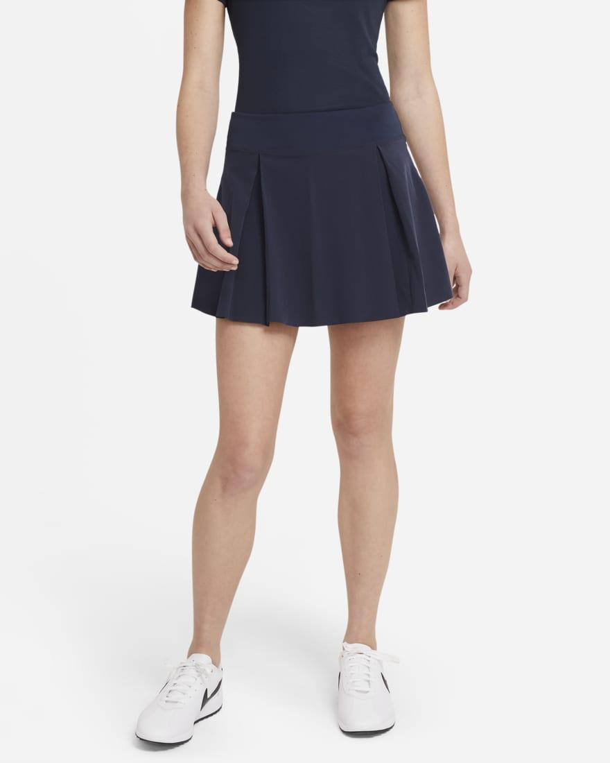 나이키 골프 여성 스커트 NikeNike Club Skirt,Obsidian/Obsidian