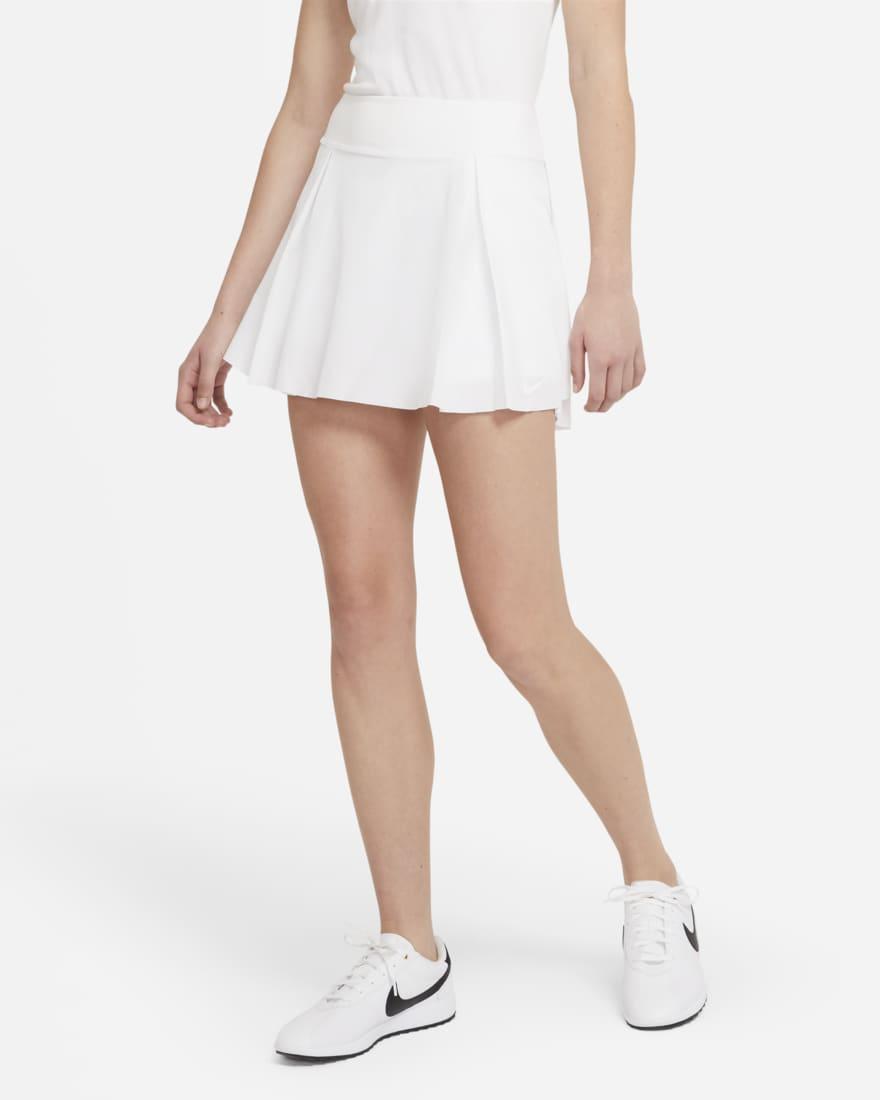 나이키 골프 여성 스커트 NikeNike Club Skirt,White/White