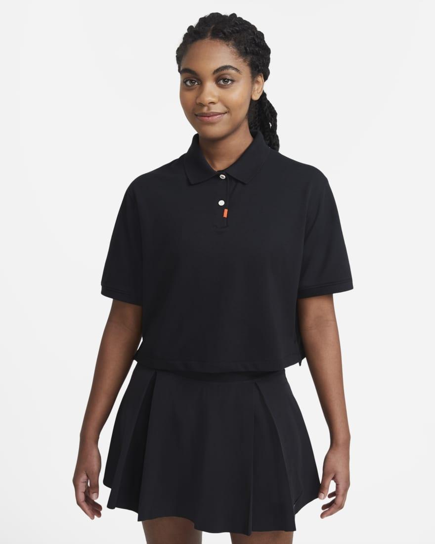 나이키 골프 여성 폴로 The Nike Polo,Black/Black