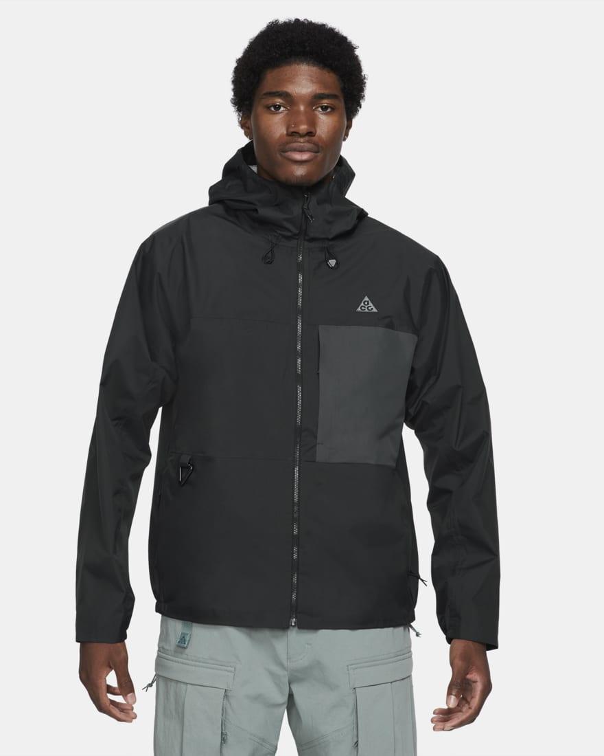 나이키 ACG 21SS 컬렉션 바람막이 자켓 Nike ACG Tuff Nuggets,Black/Anthracite