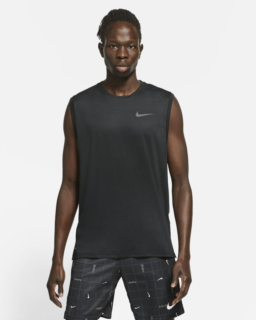 나이키 프로 드라이핏 Nike Pro Dri-FIT,Black/Dark Grey