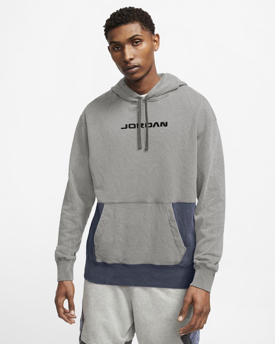 조던 AJ13 후디 CW0819-063 Nike Jordan Legacy AJ13,Dark Grey Heather/Navy