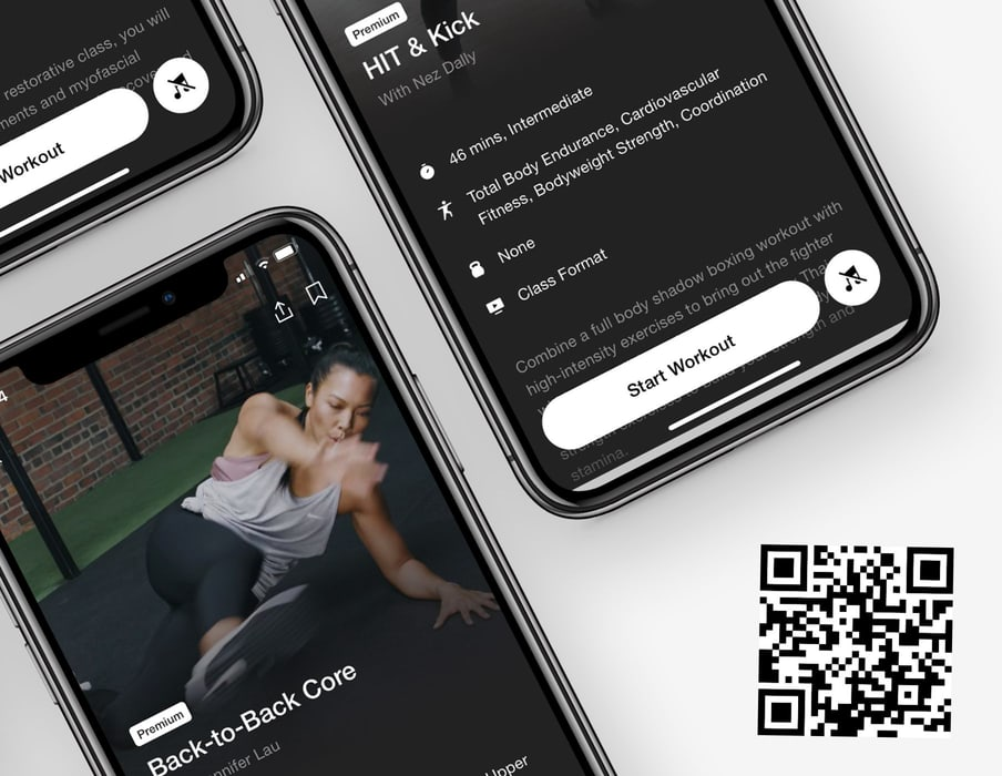 Nike Training Club Premium for Android or iOS Access