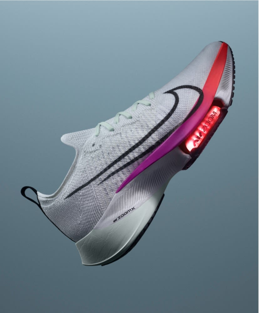 Nike Vaporfly. Featuring the new
