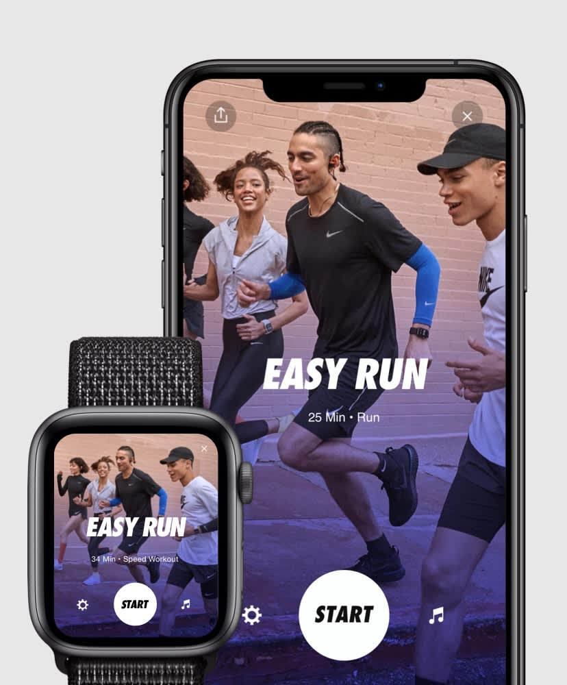 Nike Run Club App. Nike.com