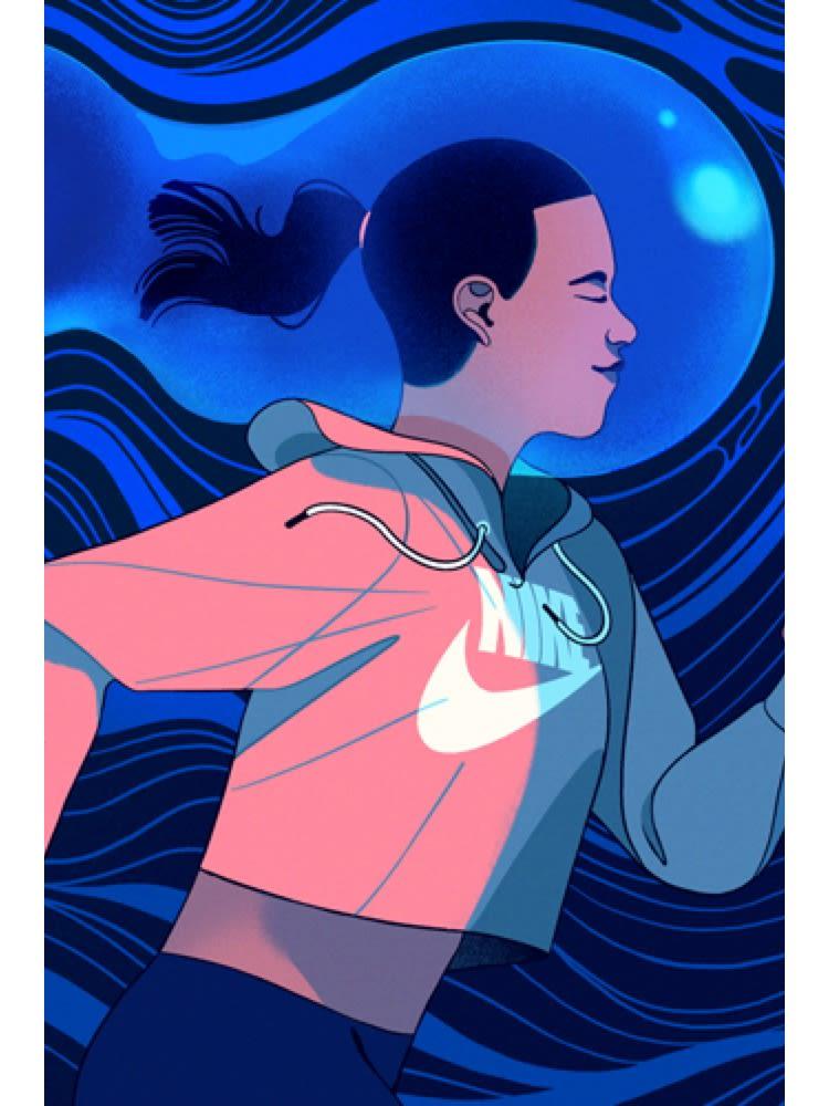 Er pågangsvilje medfødt eller skapt?. Nike NO