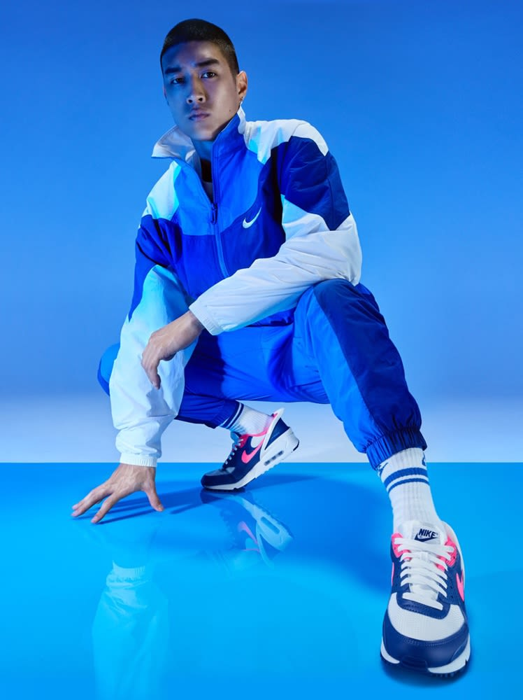 Billige Nike Air Max 97 Herre Hvit Svart Joggesko Online