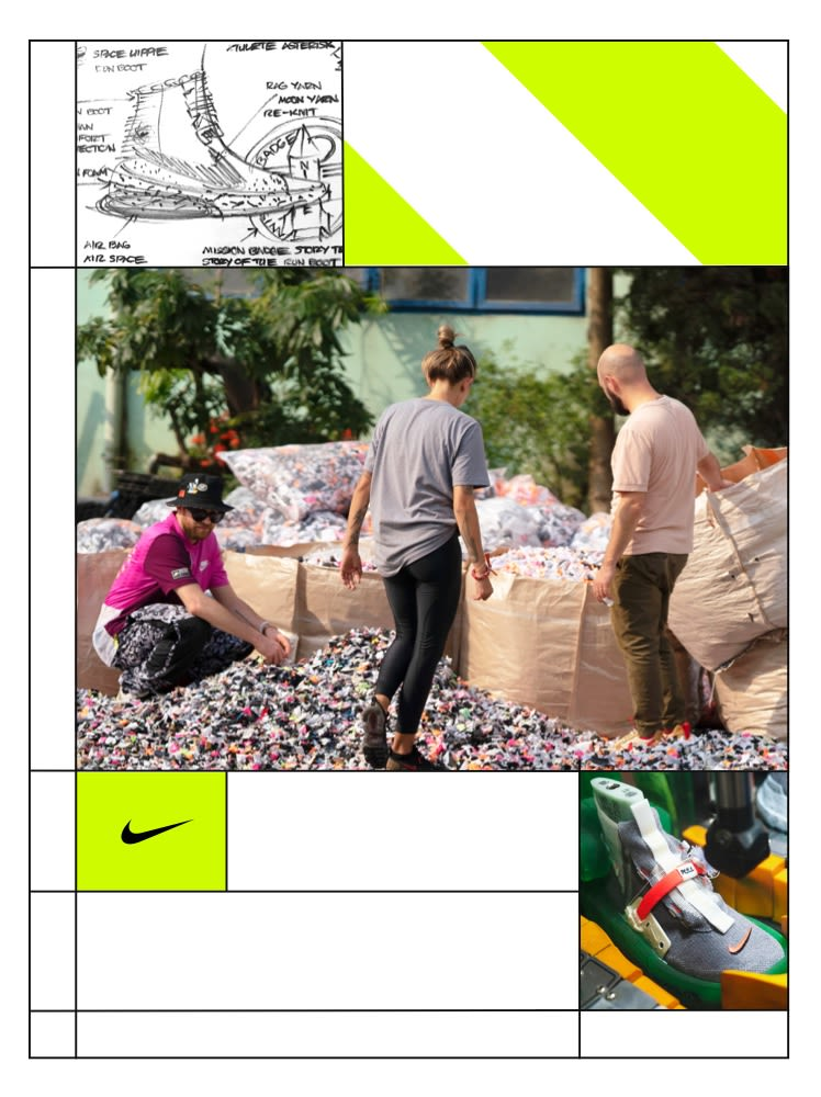 Développement durable Nike. Move to Zero. Nike FR