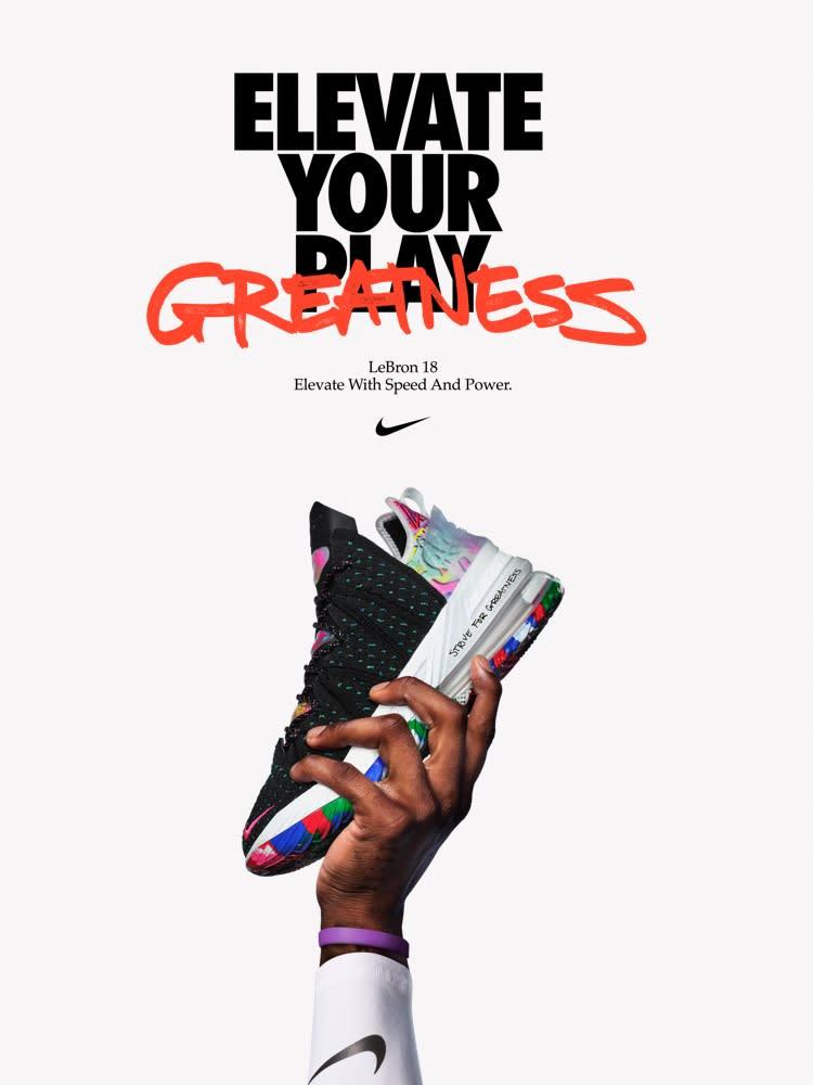 Aterrador capitán gancho  LeBron James. Nike.com