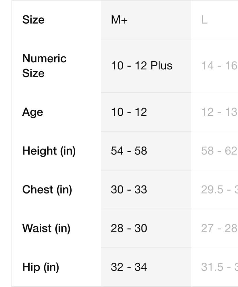 Extended Sizing For Kids Nike Si