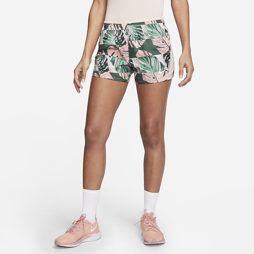 Women's Printed Running Shorts