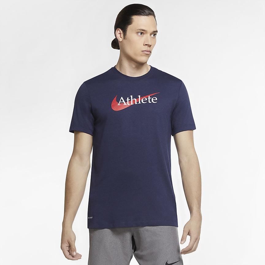 Camiseta de entrenamiento con Swoosh - Hombre