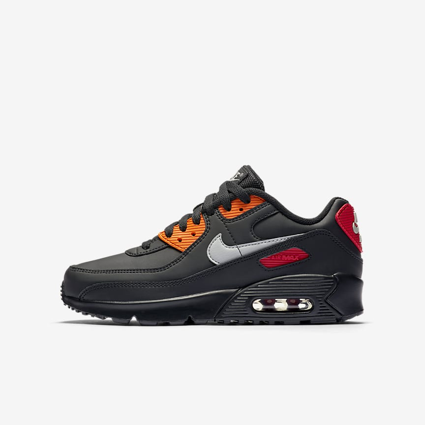 Girls' Big Kids' Nike Air Max 90 Bubble Pack Casual Shoes