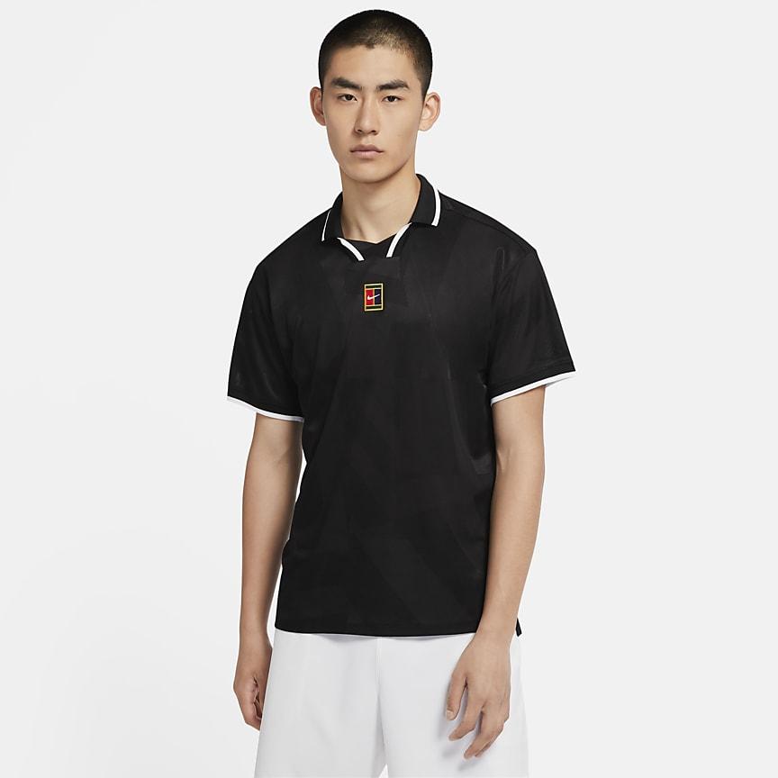 Мужская теннисная рубашка-поло