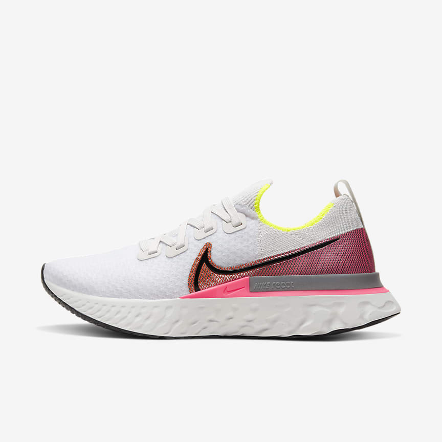 nike air max lunar1 sko - hvit / kjølende rød