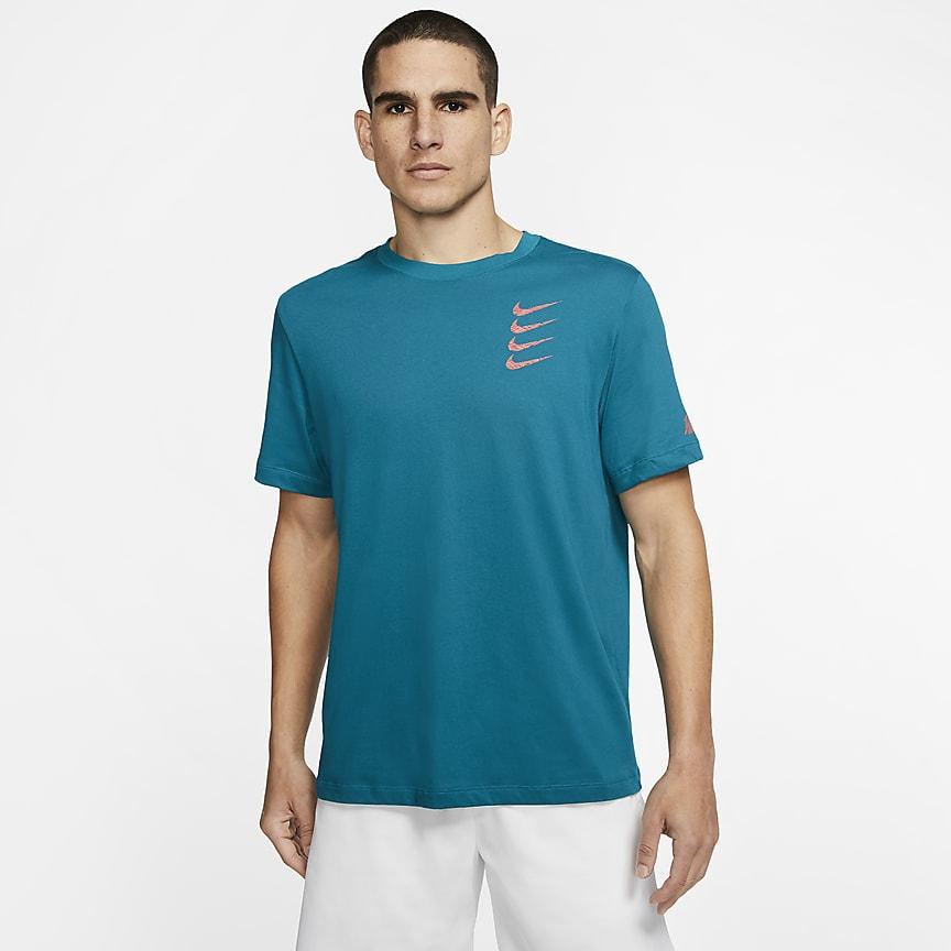 Trænings-T-shirt med grafik til mænd