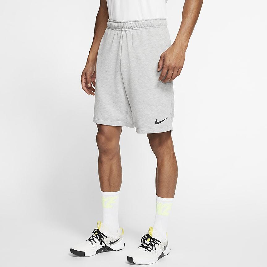 Shorts de entrenamiento de tejido Fleece para hombre