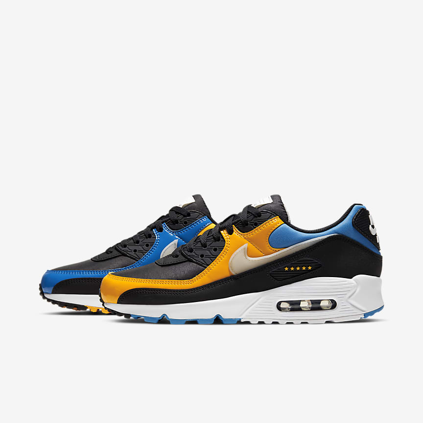 Neue Nike Air Max 95 Sportschuhe Blau Herren Auf Verkauf
