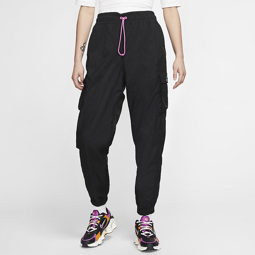 Damskie spodnie z tkaniny