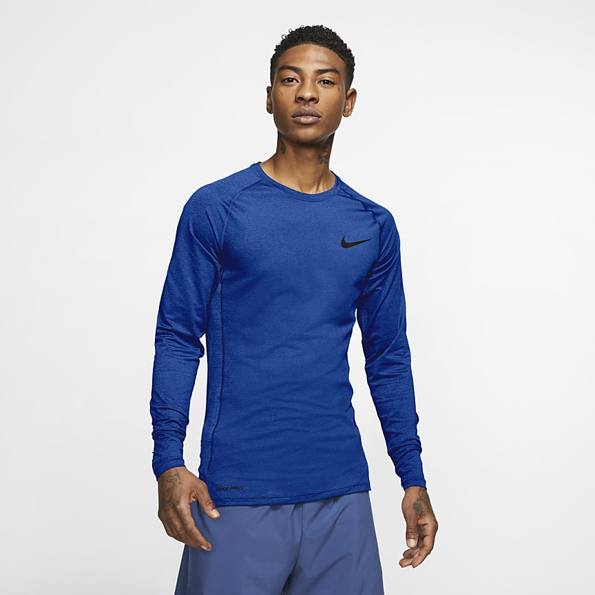 Men's Tight-Fit Long-Sleeve Top