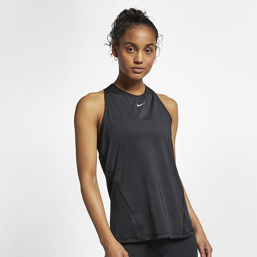 Camiseta de tirantes de malla - Mujer