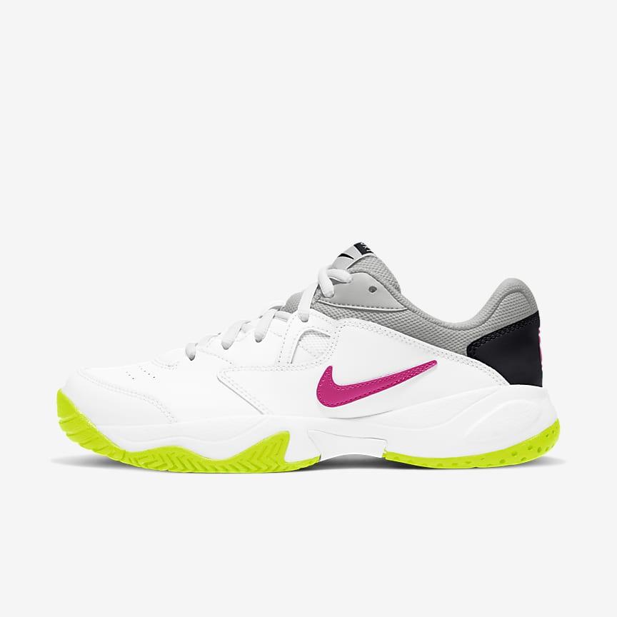 女子硬地球场网球鞋