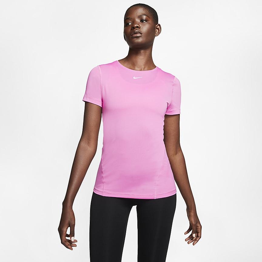 Women's Short-Sleeve Mesh Training Top