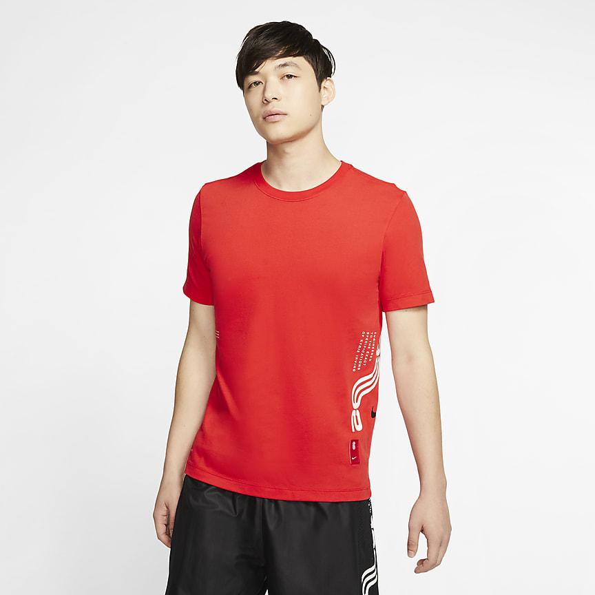 เสื้อยืดบาสเก็ตบอลผู้ชาย