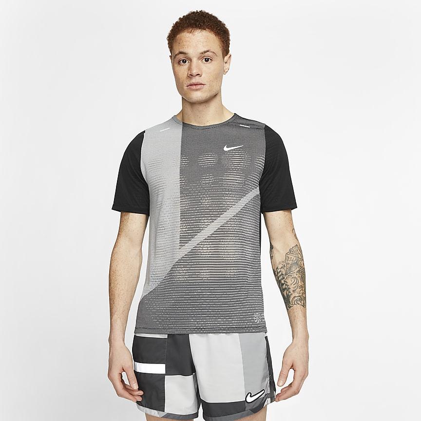 Мужская беговая футболка