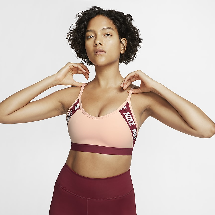 Women's Light-Support Logo Sports Bra